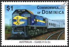 Victorian Railways (VR) Class X (3rd Series New X) Diesel-Electric Train Stamp