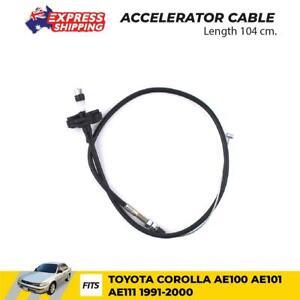 Accelerator Cable Fits Toyota Corolla AE100 AE110 AE111 AE112 Sedan 1991 - 2000