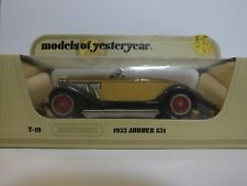 MATCHBOX MODELS OF YESTERYEAR Y-19 1935 AUBURN 851 SUPERCHARGED SPEEDSTER - #22
