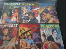lotto di 51 numeri di PLAYCOLT dal 1973 al 1979 e 3  supplementi