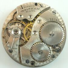 - Good Balance - Parts / Repair Antique Waltham Grade 510 Pocket Watch Movement