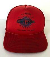 Vintage Sands 40th Anniversary Hotel Casino Las Vegas Trucker Hat Mesh Rope Cap