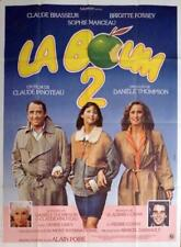LA BOUM 2 - MARCEAU / FOSSEY / BRASSEUR - ORIGINAL LARGE FRENCH MOVIE POSTER