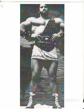 bodybuilder REG PARK as Hercules Bodybuilding Muscle Photo B&W