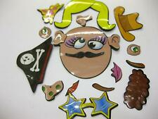 50 x CRAZY FACE MAGNETS CHILDS TOY POUND GIFT PINATA WHOLESALE JOB LOT £ SHOP