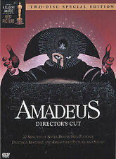 Amadeus Director's Cut Dvd! Special Two Disc Edition! Widescreen!