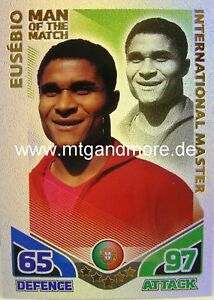 Match Attax World Stars Legends - Eusebio