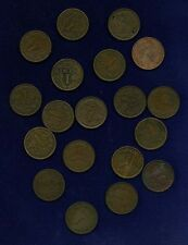 NETHERLANDS  KINGDOM  1 CENT: 1901,1902,1905,1906,1913,1914,1915,1917,1918,1919,