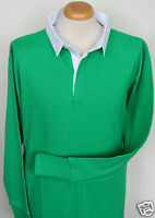 CLASSIC LONG SLEEVE / LONG LENGTH PLAIN RUGBY SHIRT. 6 COLOURS & 5 SIZES #20214