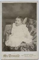 Cabinet Photo - GORDON Family Baby-Denver, Colorado