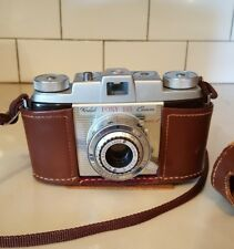 Kodak PONY 135 1950's with Case Works Near Mint