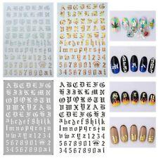 4pc Ladies Ultra Thin Nail Supplies Nail Sticker Decal Nail Decor Art Manicure