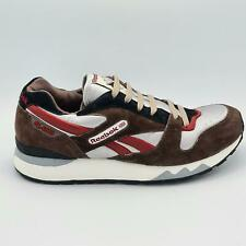 Reebok Mens Classsic Leather Ripple Retro Trainers - Brown - UK 8