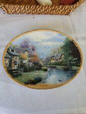Thomas kinkade collector plates