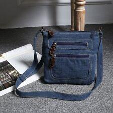New Women Lady Denim Jeans Satchel Handbag Shoulder Tote Messenger Crossbody Bag