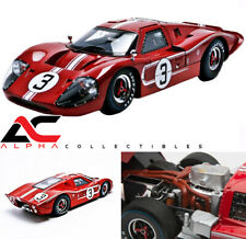 SHELBY COLLECTIBLES SC425 1:18 1967 FORD GT MK IV BROWN #3 LE MANS ANDRETTI
