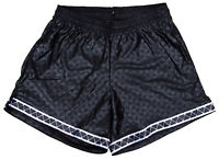 Don Alleson Black Triangle Polyester Soccer Shorts - Men's Small