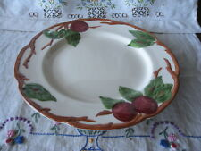 "Vintage China Dish Franciscan Red""Apple"" Luncheon Plate 9 5/8"" EVC ~ Last One!"