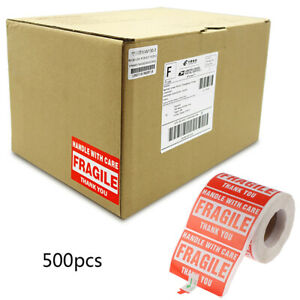 Warning Shipping label Fragile Warning Stickers Seal Care Carton StickersYJCAWXI
