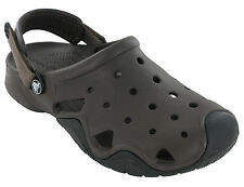 Crocs Swiftwater Clog Strap Fastening Beach Adjustable Flat Slip On Sandals