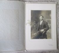 """Portrait of Young Man in Suit marked """"The Dengler Photo Studio"""""""