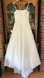 Galina Wedding Dress Size 8 Lace Ivory
