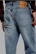 New Levi's 541 Mens Vintage Wash Athletic Straight White Oak Denim Jeans 36 X 32