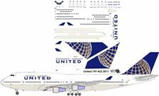 United Boeing 747-400 decals for Revell 1/144 kit