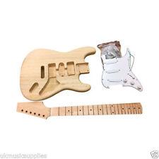 Guitares électriques blanc 6 cordes
