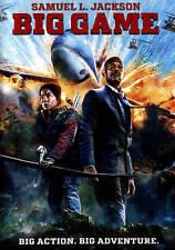 Big Game (DVD, 2015) Samuel L. Jackson - Ex-Rental Good Condition