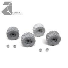 Zinge Industries Ruedas - 27mm no amplia rueda militar Tapacubos X 4 del armazón S-WHE15
