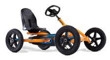 Berg Buddy B Kids Pedal Car Go Kart Black / Orange 3 - 8 Years New