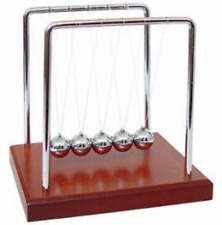 Newton's Cradle Balancing Balls Steel Balls Entertained Perpetual Motion Toy New