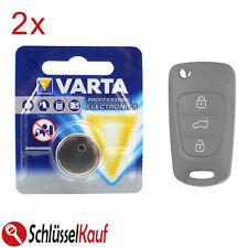 2x VARTA Autoschlüssel Batterie für Hyundai i20 i30 ix35 Kia Ceed Rio Sorento