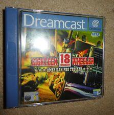Sega Dreamcast 18 Wheeler American Pro Trucker Euro PAL dix-huit
