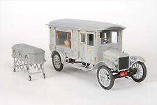 1:18 Precision Miniaturas - 1921 FORD modelo T Coche Fúnebre Gris RAREZA§