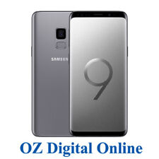 "NEW Samsung Galaxy S9 Dual Sim G960FD 64GB Grey 12MP 4G LTE 5.8"" Unlocked Phone"