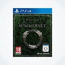 The Elder Scrolls Online : SUMMERSET sur PS4 / Neuf / Sous Blister