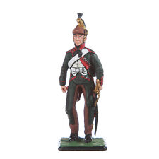 Tin Toy Soldier Napoleonic French Dragoon Private metal 54mm hand painted #4.03