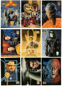 1994 Skybox Star Trek Master Series 2 You Pick the Base Card Finish Your Set