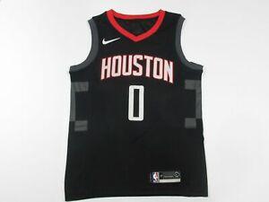 LAMBO Mens Basketball Jersey Houston Rockets #0 Russell Westbrook Jerseys 2019-2020 Season Basketball Swingman Mesh Jersey for Men Sleeveless Sports Shirts Red,M
