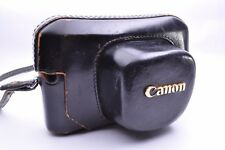 Vintage!! Canon Camera Leather Case for Canon Model 7 From JAPAN
