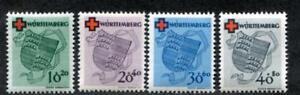 Germany- Wurttemberg 8NB1-4 MNH