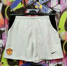 Manchester United The Red Devils Football Soccer Training Shorts Nike Mens sz S