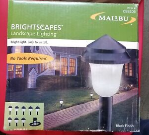 KIT Malibu Low Voltage Landscape Pathway 8 YARD LIGHTS, POWER PACK 50' CABLE