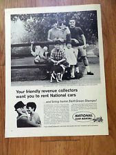 1966 National Car Rental Ad   Revenue Collectors
