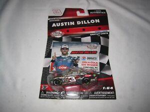 Austin Dillon #3 Dow Charlotte Win Raced Version 2018 Wave 1 NASCAR Authentics