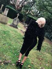 Black Fallen Angel Wings Halloween Costume Ariana Charlies Angels Feather