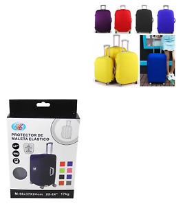 Travel Suitcase Luggage Cover Protector Elastic Stretchy Cover Assorted Colours.