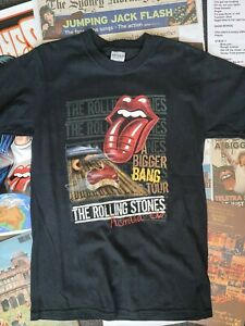 Rolling Stones Australia 2006 tour t-shirt